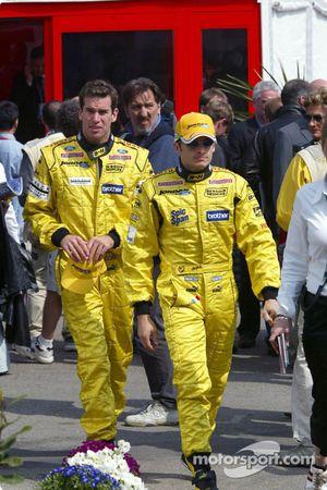 Présentation des pilotes : Ralph Firman et Giancarlo Fisichella