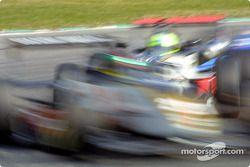 Alan van der Merwe in a motion blur