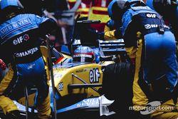 Parada en pits para Fernando Alonso