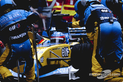 Arrêt pour Fernando Alonso