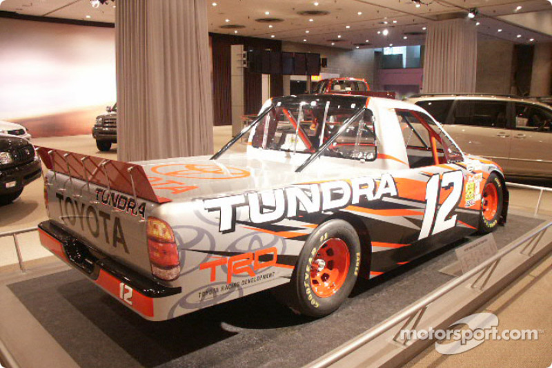 Toyota Tundra Race Truck At New York International Auto Show