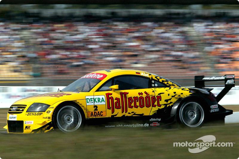 Christian Abt, Abt Sportsline, AbtAudi TTR 2003 bei Hockenheim  DTM Fotos