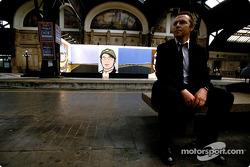 British artist Julian Opie brings together Art ve Formula 1 racing: Julian Opie