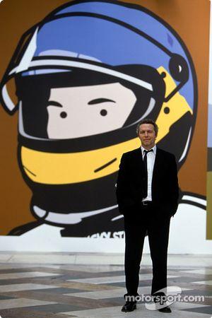 El artista británico Julian Opie junta el arte con la Fórmula 1: Julian Opie