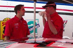 D.J. Kennington and Chris Fowler