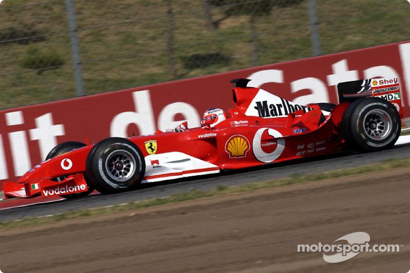 53. España 2003, Ferrari F2003-GA