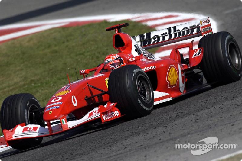 2003: Мichael Schumacher, Ferrari F2003-GA