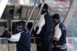 Muro de pits de Williams-BMW