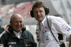 Jaguar's John Hogan and Dave Pitchford
