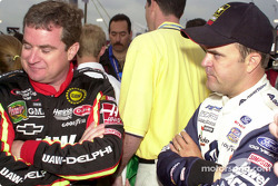 Joe Nemechek and Jason Keller