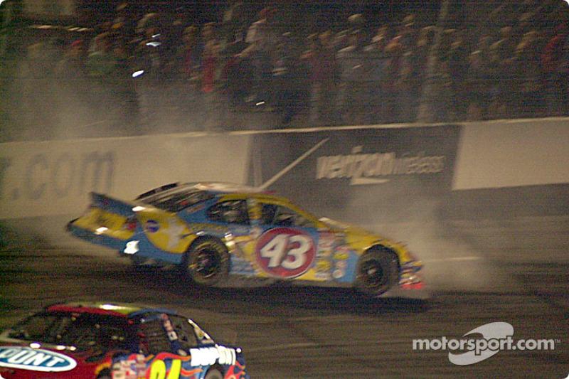 John Andretti takes a spin