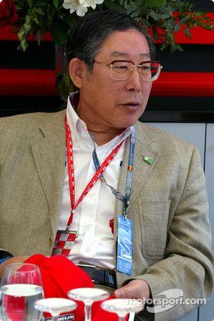 Hiroshi Okuda, Presidente de Toyota