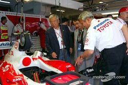 Dr Toyoda, Honorary Chairmain Toyota Motor Corporation