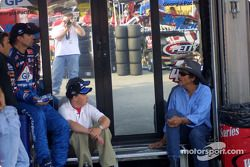 Christian Fittipaldi, Kyle and Richard Petty