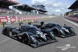 The two Bentley Speed 8 of Team Bentley