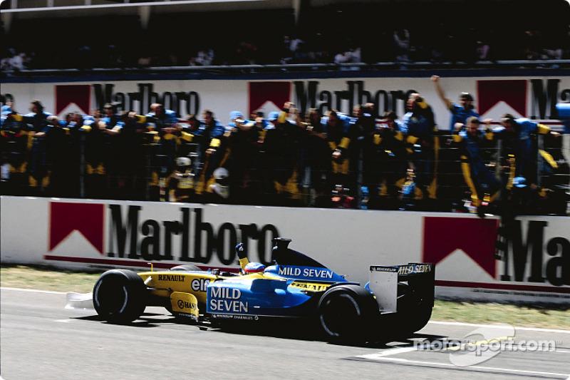 2. finish for Fernando Alonso