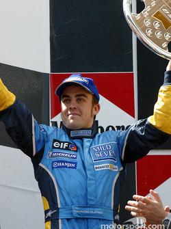 El podio: Fernando Alonso