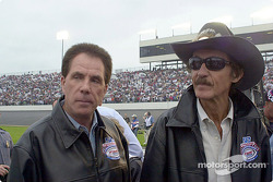 Darrell Waltrip und Richard Petty