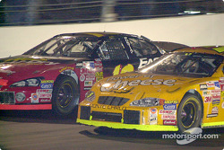 Johnny Benson y Terry Labonte