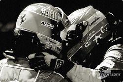 Michael Schumacher y Fernando Alonso