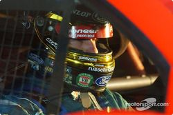 Russell (The Enforcer) Ingall prepares for the Top 10 shoout out