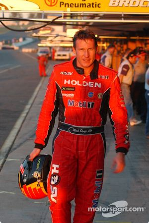 Mark Skaife has to settle for second place on the grid on Sunday