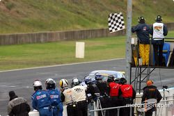 Ambrose takes the chequered flag
