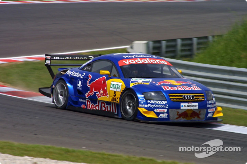 Mattias Ekström, Abt Sportsline, AbtAudi TTR 2003 bei Adria  DTM Fotos