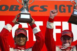 GT500 winners #22 Masami Kageyama/Richard Lyons
