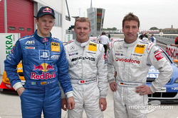 Mattias Ekström, Abt Sportsline, Abt-Audi TT-R 2003; Marcel Fässler, Team HWA, AMG-Mercedes CLK-DTM