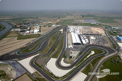 Aerial view of Adria International Raceway