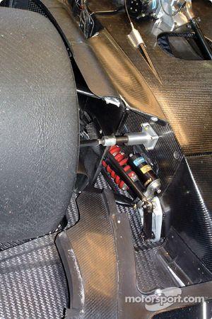 Lister front suspension