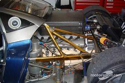 Mercedes V12 engine of the Pagani Zonda