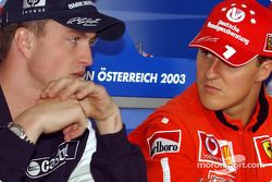 Conferencia de prensa de la FIA: Ralf Schumacher y Michael Schumacher