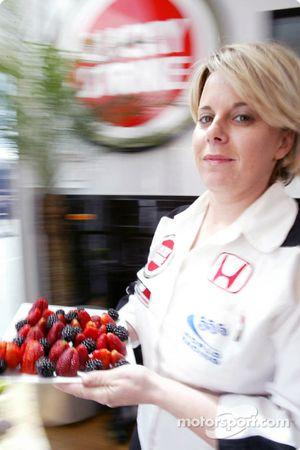 BAR hospitality área: Joanne Pinkstone