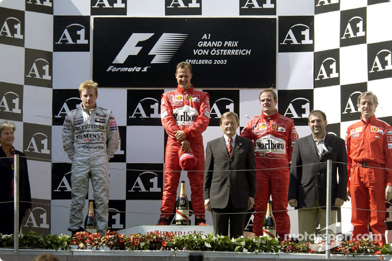 2003: Michael Schumacher
