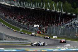 Primera vuelta Ralf Schumacher