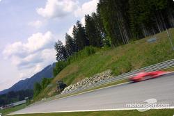 Desenfoque de movimiento en Michael Schumacher