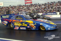 A Jungle Jim commemorative funny car