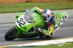 Eric Bostrom leaning way over!
