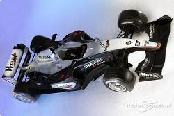 The new McLaren Mercedes MP4-18