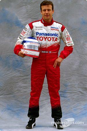Toyota photoshoot: Olivier Panis