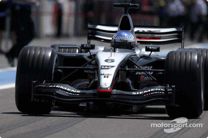 2003: McLaren MP4/18