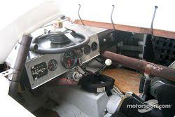 Interior of a stock car