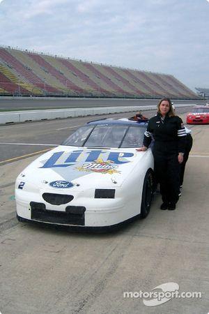 Motorsport.com's photographer Jennifer Densteadt