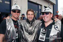 Bernd Schneider with fans