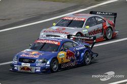 Karl Wendlinger, Abt Sportsline, Abt-Audi TT-R 2003; Bernd Schneider, Team HWA, AMG-Mercedes CLK-DTM