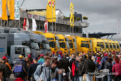 Nurburgring paddock area