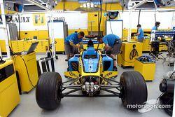 Zona de garage de Renault