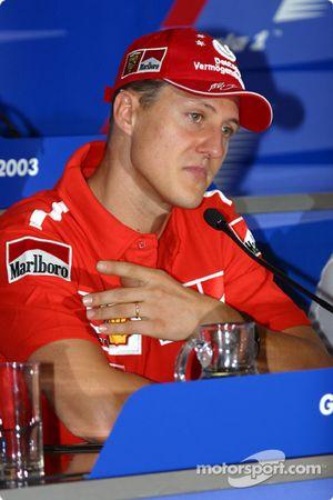 Rueda de prensa del miércoles de la FIA: Michael Schumacher